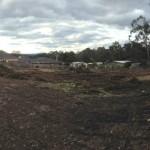 Site preparation underway at 33 Cambridge Road in Mooroolbark